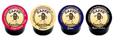 Agostani Top Kapseln kompatibel Lavazza Blue o Lavazza In Black haben