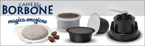 Kaffeekapseln-und Pads Caffè Borbone