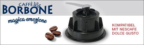 Caffe Borbone Kaffeekapseln kompatibel mit Nescafé Dolce Gusto