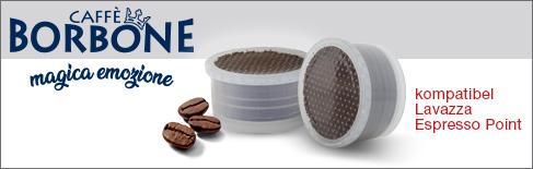 Kaffeekapseln Caffè Borbone kompatibel Lavazza Espresso Point