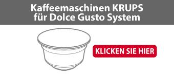 Kaffeemaschinen KRUPS für Dolce Gusto System