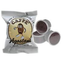 100 Kapseln Agostani Mischung Decaffeinato/Entkoffeiniert kompatibel Lavazza Point